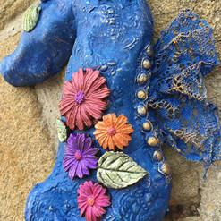 Stone Art Seahorse