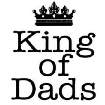 Woodware Clear Magic Stamp - King of Dads