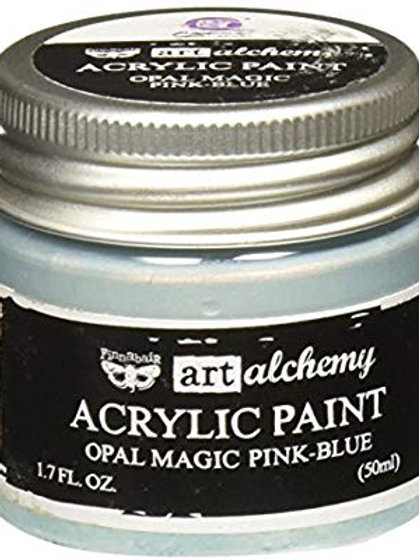 Art Alchemy Opal Magic Acrylic Paint - Pink-Blue