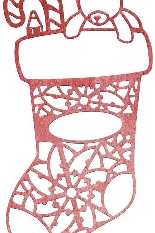 Cheery Lynn Designs Die -Christmas Stocking
