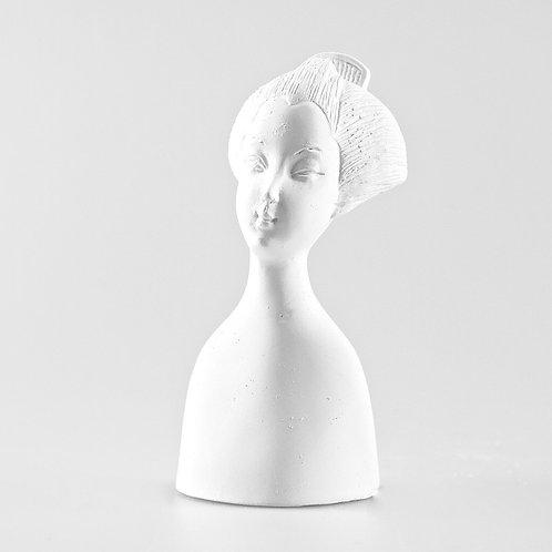 Geisha Plaster Head by Powertex