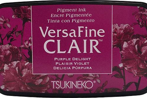 Tsukineko Versafine Clair Ink Pad - PURPLE DELIGHT