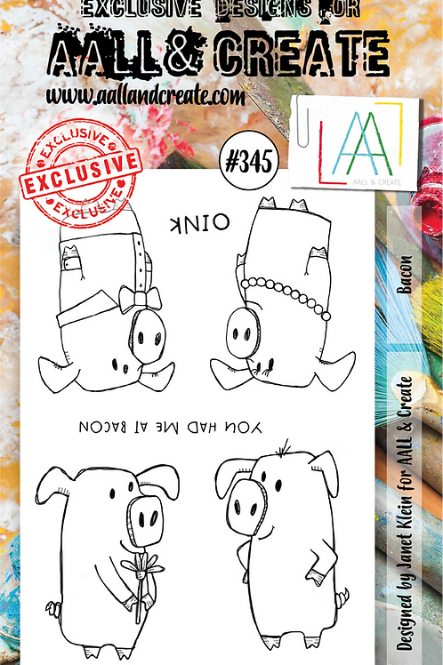 AALL and Create Stamp Set #345 - Bacon