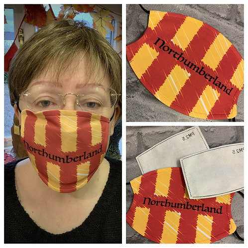 Proudly Northumbrian Face Mask