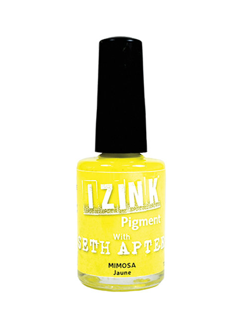 iZink Pigment with Seth Apter - Mimosa