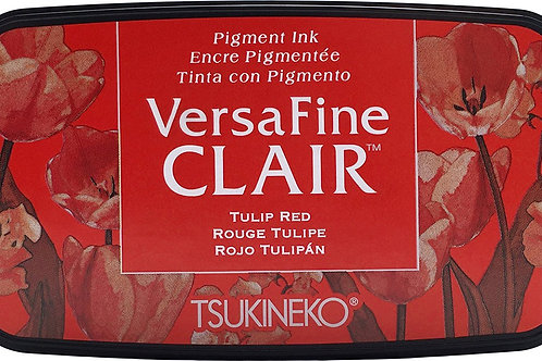 Tsukineko Versafine Clair Inkpad - TULIP RED