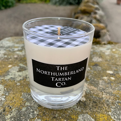 Wild Blackberry Candle from the Northumberland Tartan Co