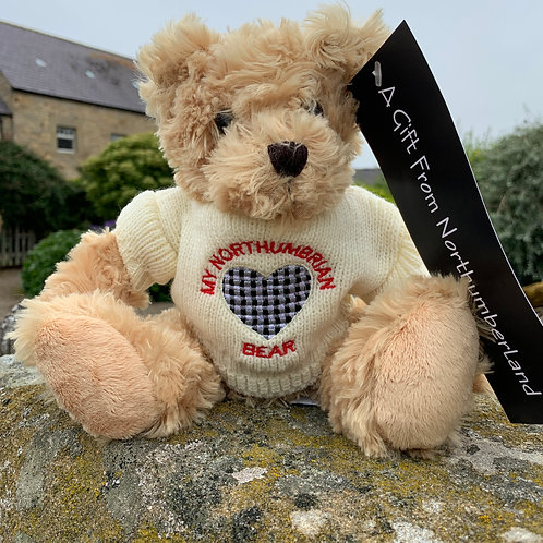 Teddy Bear from the Northumberland Tartan Co
