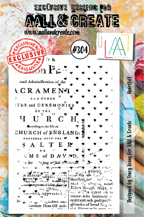 AALL and Create A7 Stamp Set #304