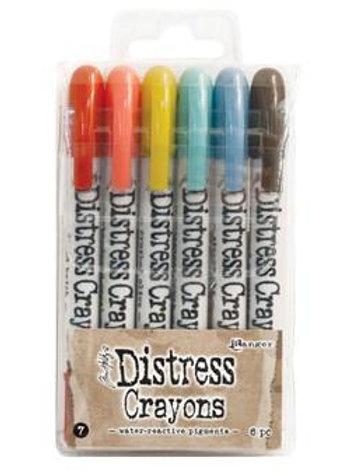 Tim Holtz Distress Crayons - Set 7