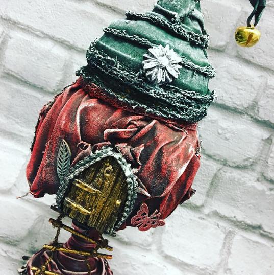 Powertex Fairy House