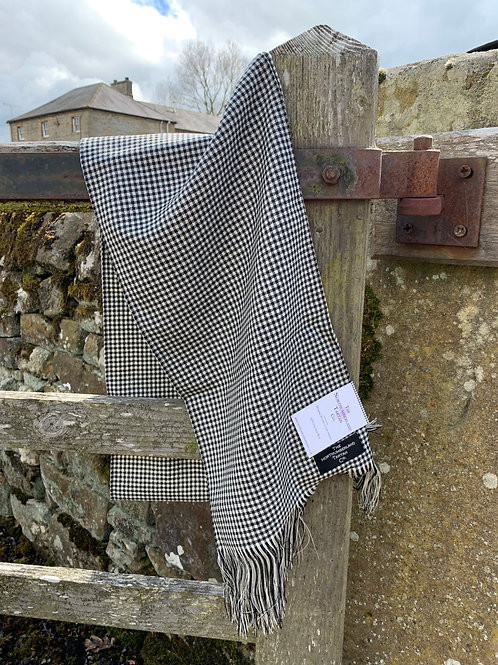 Long Fine Ladies scarf from The Northumbrian Tartan Co