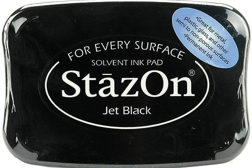 StaZon Ink pad - Jet Black