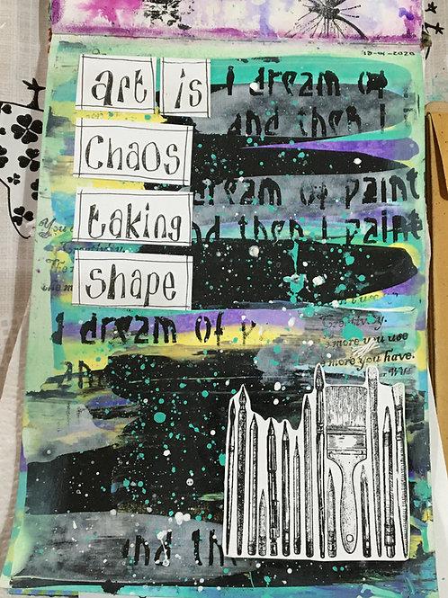 Art Journaling For Beginners SATURDAY £30