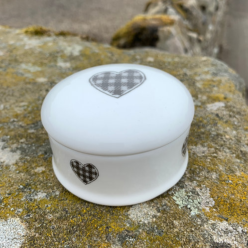 Trinket Box from The Northumbrian Tartan Co