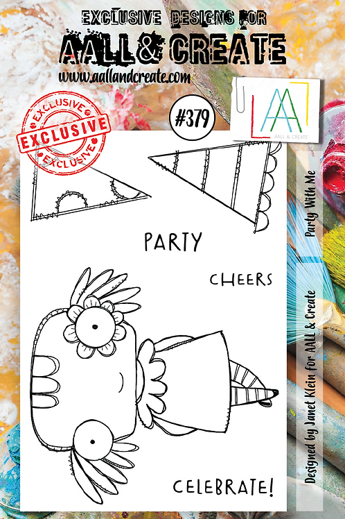 AALL and Create A7 Stamp Set #379 - Party with me