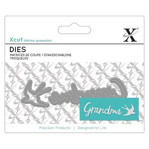 XCUT Mini Die - Grandma