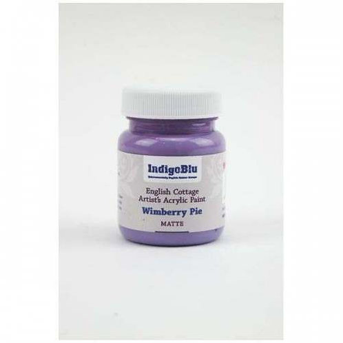 IndigoBlu Artist's Acrylic Paint - Wimberry Pie (Matte - 60ml)