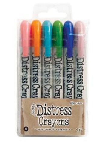 Tim Holtz Distress Crayons - Set 6