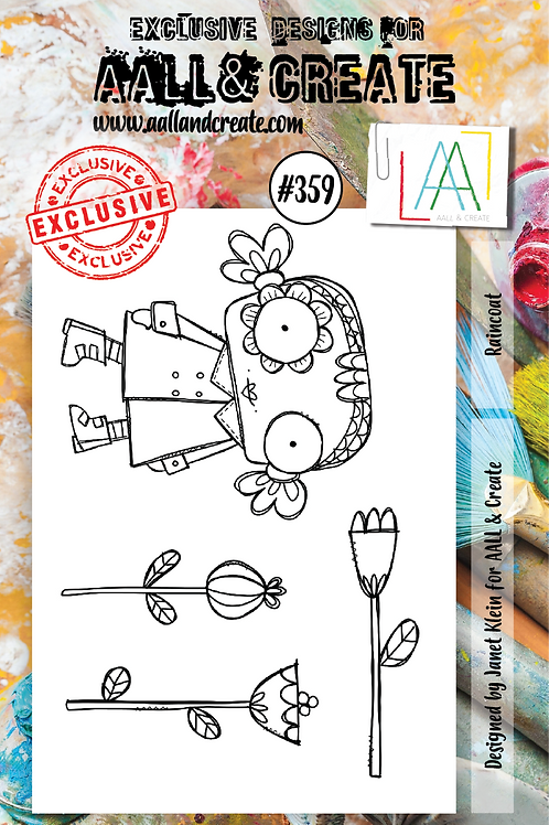 AALL and Create A7 Stamp Set #359 - Raincoat
