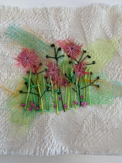 Creative Hand Embroidery Kit - Ragged Robin