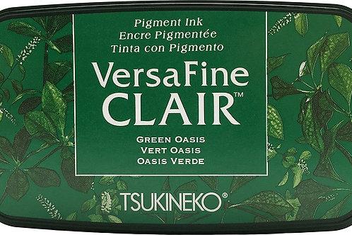 Tsukineko Versafine Clair Inkpad -GREEN OASIS