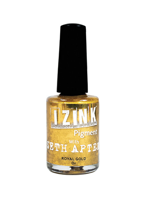 iZink Pigment with Seth Apter - Royal Gold