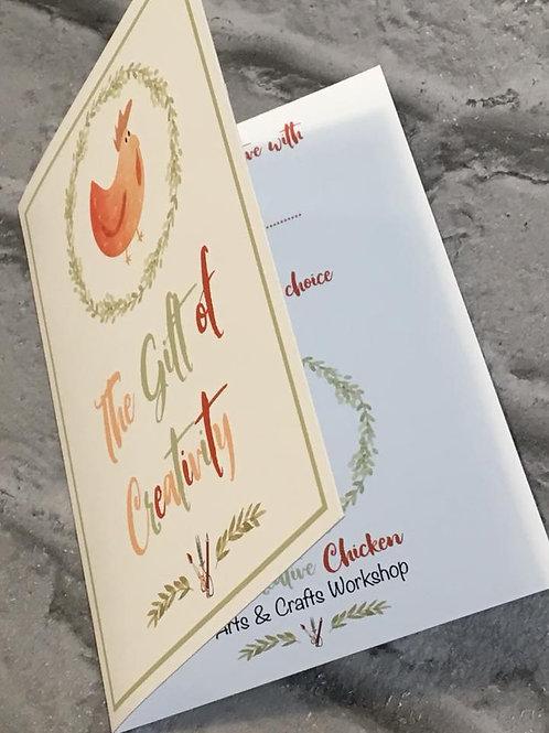Creative Chicken Gift Vouchers