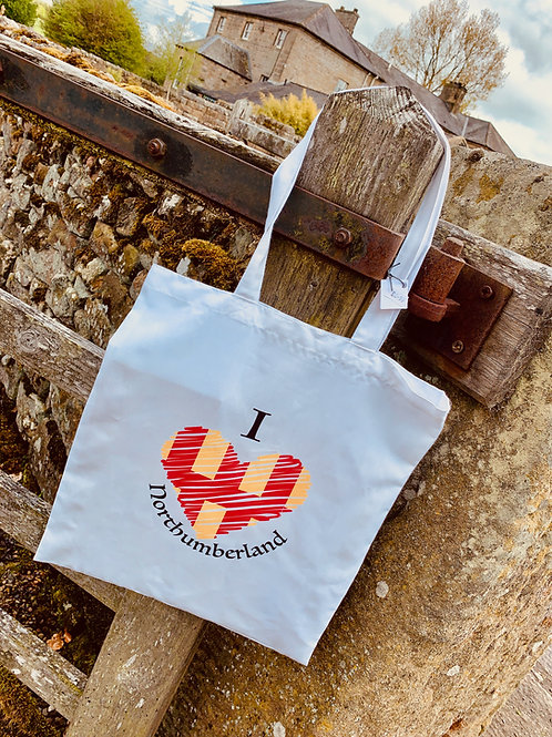 Proudly Northumbrian Tote Bag