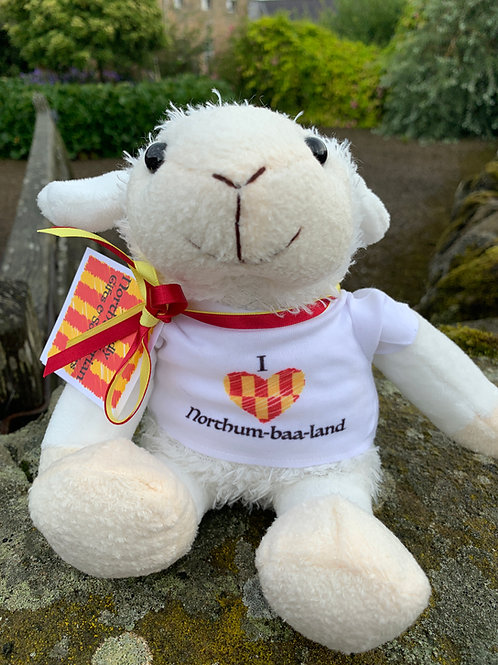 Proudly Northumbrian - Lancelot Lamb Soft Toy