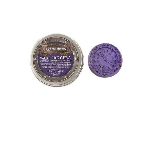 Finnabair Art Alchemy Metallique Wax - Electric Violet
