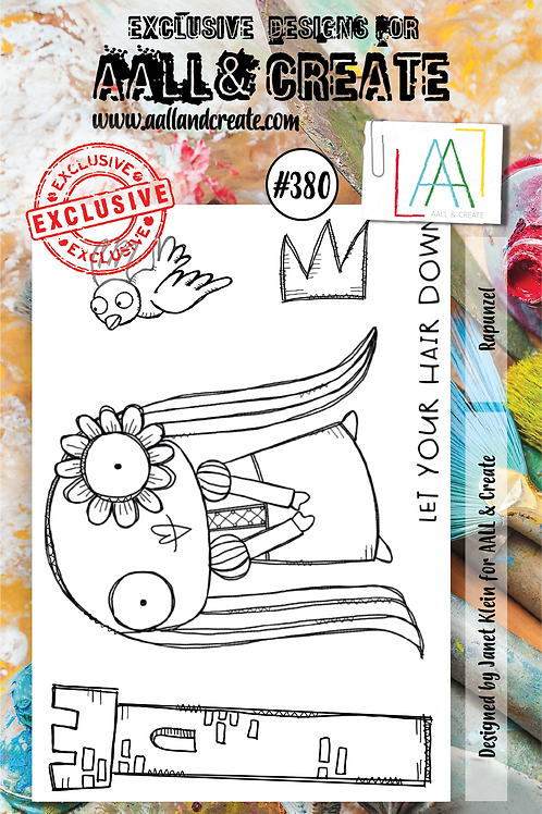 AALL and Create A7 Stamp Set #380 - Rapunzel