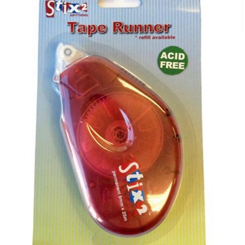 Permanent Tape Runner 8mm x 25mm