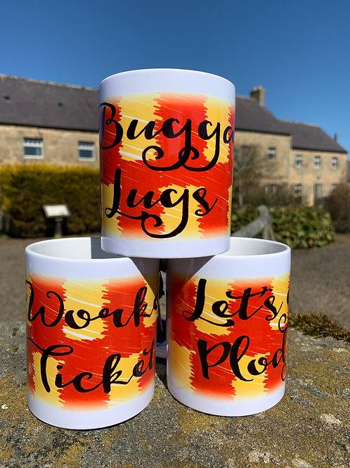Proudly Northumbrian 'Dialect'  Mug