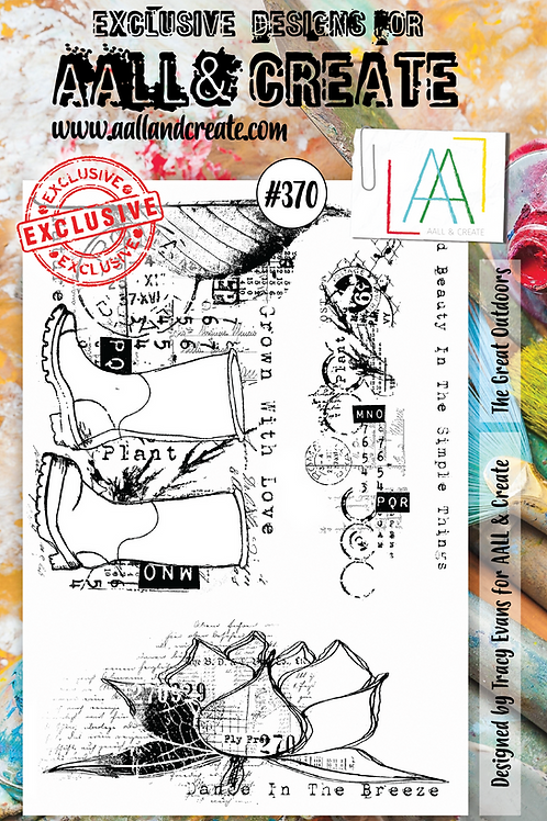 AALL and Create Stamp Set #370 - The Great Outdoors