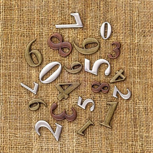 Finnabair Vintage Trinkets - Mini Numbers