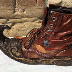 Powertex Shoe Planter