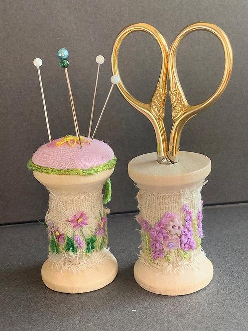 Creative Hand Embroidery Slow Stitch Bobbin Kit