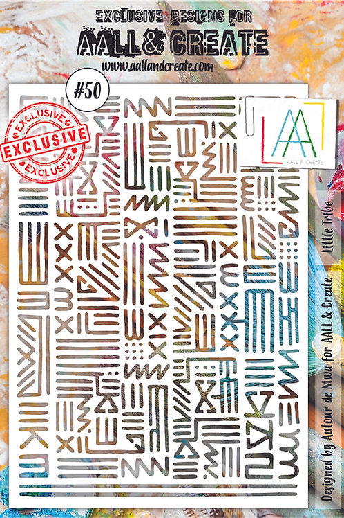 AALL and Create A5 Stencil #50 - Little Tribe