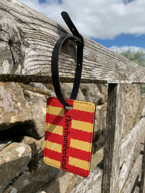 Proudly Northumbrian Luggage Tag