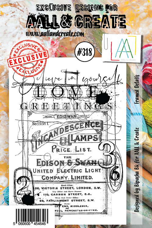 AALL and Create A7 Stamp Set #318