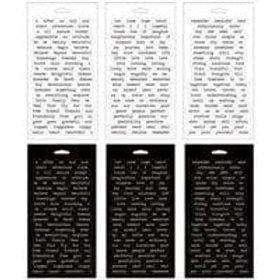 Tim Holtz Idea-ology Big Talk Stickers