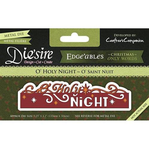 Die'sire Edge'ables Die - Holy Night