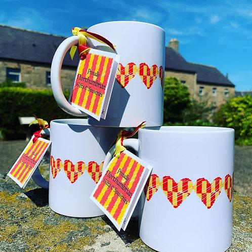 Proudly Northumbrian Mug