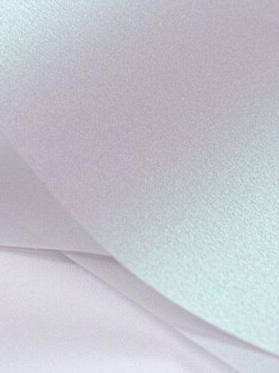 Curious Transparent Vellum - White Iridescent