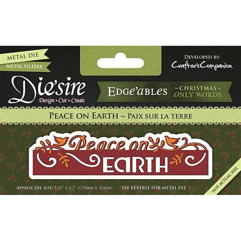 Die'sire Edge'ables Die - Peace on Earth