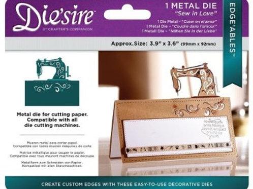Die'sire Edge'ables 'Sew in Love' die