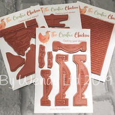 Creative Chicken Northern Icon Stamps