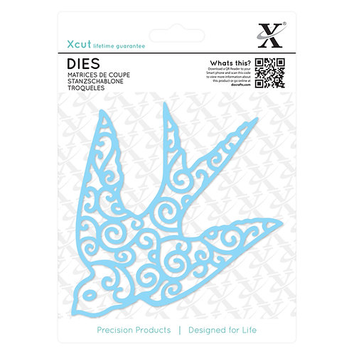 XCUT Die - Filigree Swallow