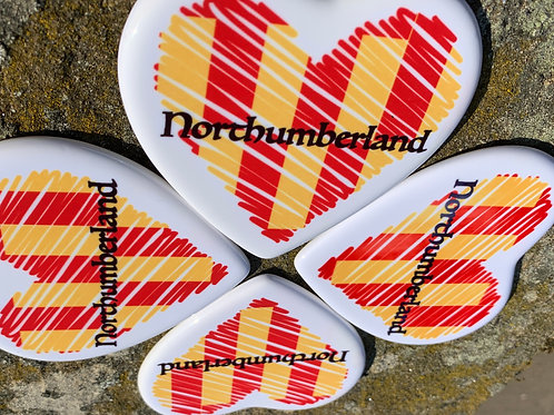 Northumberland Ceramic Coaster
